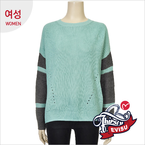 _妇女组织零售的颜色变化连衣裙型无领无扣衫_EN4SW053_MI